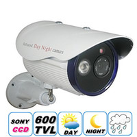 Wholesale CCTV SONY CCD TVL mm lens Array IR LED Outdoor Night Vision Camera Maximum M IR distance