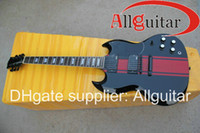 Solid Body 12 Strings Mahogany New Style guitar sg 400 black mahogany electric guitar China Guitar