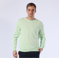 Men christmas jumpers - Mix order Men s long sleeve cashmere sweaters zip neck round neck V neck jumper sweater PL125