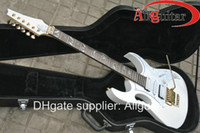 Wholesale Alpine White V electric guitar floyd vibrato China Guitar