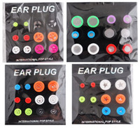 Wholesale Mix Styles Silicone Stretcher Flesh Tunnel Plug Ear Expander Plugs Body Piercing Jewelry pairs