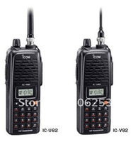 Wholesale 5PCS Fresh Walkie Talkie VHF W CH Two Way Radio IC V82 ICV82 V82 ICOM Business A0830A Free Shipp