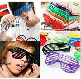 Wholesale High quality Fashion Shutter Shades Sunglasses Frame props of bar club party items