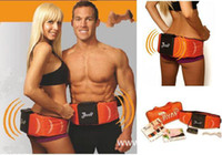 abs forms - Electric GYM form Dual shaper Slimming Massage fitness ABS thin rejection fat Belt