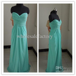 Wholesale Custom made Elegant Sheath Sweetheart Floor length Chiifon damask Ruffer Celebrity Dresses h