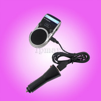 Wholesale Solar Charging Powered Bluetooth Car Kit Handsfree Caller LCD Display