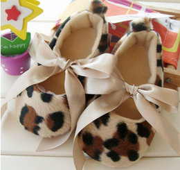 baby shoes Baby soft sole shoes - Leopard Infant Booties shoes Girl's Prewalker First walker shoes