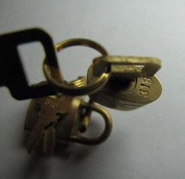 Lock and keys . Link for order , price and shipping as our agreement .
