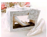 Wholesale Cinderella Shoe Candle Wedding Favour Gift Table Decoration Accessorie