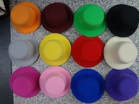 Wholesale 12pcS Hen Party Plain Mini Top Hat for DIY Hair Fascinator Headwears cm Mini hat colors