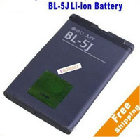 Wholesale Moblie Rechargeable Li ion Battery BL J For NOKIA V mAh