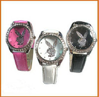 playboy watches - Hot Sale many colors new Playboy quartz diamond watch Wristwatch Watches