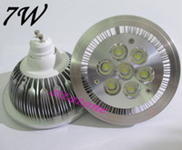 Wholesale GU10 W AR111 led spotlight bulb year warranty W ED lamp AC85 V