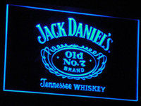 beer sign - a048 Daniels Old No Whiskey LED Neon Sign Bar Beer Decor Dropshipping colors to choose
