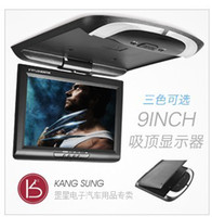 Wholesale 9 inch ceiling monitor HD resolution thin car display LCD Car TV