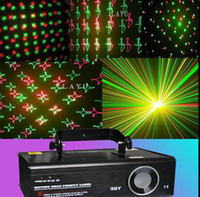 Wholesale NEW Laser Effect RGY Moving head firefly laser light Red Green Yellow DMX512 with angles scatter