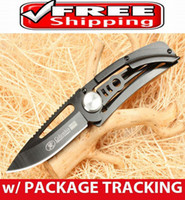 Wholesale BLACK HERCULES POCKET FOLDING KNIFE CAMPING FISHING OUTDOOR GEAR TOOL BEST BUY