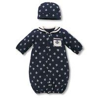 Girl Summer 80-90-100cm Boys Girls Sleeping bags Pajamas Baby 2-piece Set Long Sleeve Sleep Sack & Hats sleepwear For 0-3T