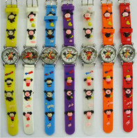Wholesale Pucca colorful Children Candy Women Fashion Unisex Bracelet Watches Jelly Kids Cartoon D Wristwatch