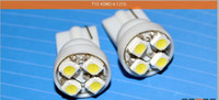 Wholesale T10 W5W DC V Bright White Colors SMD CAR Instrument LED blue Light Red amber green
