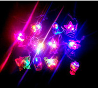 attraction flash - LED necklace light emitting crystal pendant tourist attractions flash necklace stall night market se