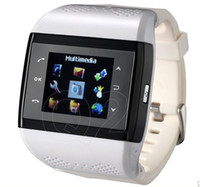 Wholesale dual sim FM bluetooth gravitation influence MP camera watch phone with G card seller china dealer