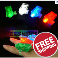 Wholesale LED Finger Light Ring Beams Rave Bright Laser Party Glow for Party Pub Colors Christmas