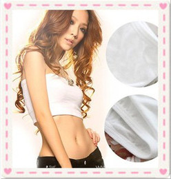 Wholesale Shear seamless bandeau bra Strapless sport one piece bra fashion soft