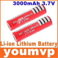 Wholesale Ultrafire Rechargeable Lithium lon mAh battery for LED torch flashlight