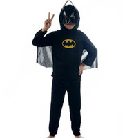 Wholesale Children Batman suit sexy Halloween performances costumes masquerade role play clothing g