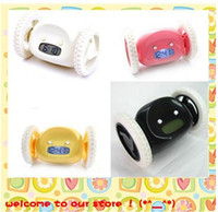 Wholesale Hihg quality Clocky Hide and Seek Alarm Clock Runs Away On Wheels