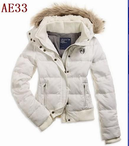 2018 New Women'S Ae White Down Coat Jacket Winter Parka ...