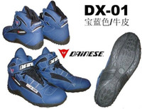 Wholesale pair Blue or Black Dainese Motorcycle Shoes Motorcycle Dainese Boot