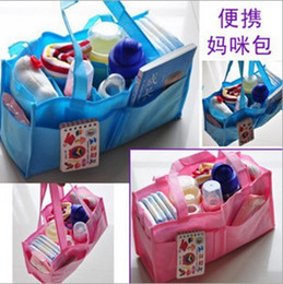 Wholesale New functional portable mummy bag liner the multifunction portable Mommy separated bags dandys