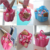Wholesale pink blue New functional portable mummy bag liner the multifunction portable Mommy separated bags