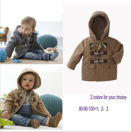 Wholesale Baby Boys Hooded Wind Coat Coveralls Children s Snowsuit Kids Warmest Coat Jacket Gray amp Khaki T