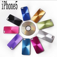 Plastic plastic cd covers - Bling CD aluminum chrome shiny hard skin case For iphone G th alloy metal cover case