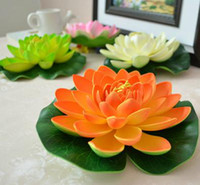 Wholesale Flower Artificial Simulation lotus decorations festive supplies cm
