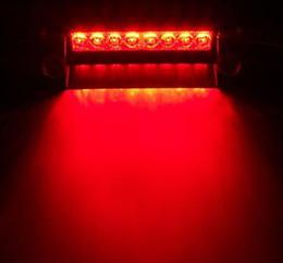 Wholesale New Red LED Strobe Flash Warning Police EMS Car Truck Light Flashing Firemen Fog Lights LED kaka