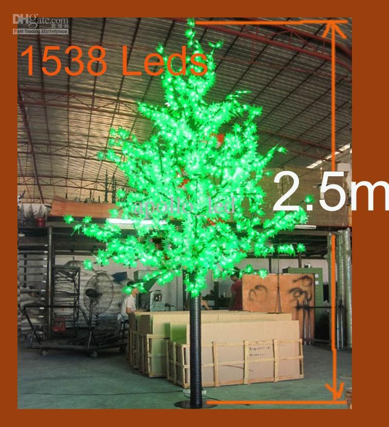 Step 2 Light Up Christmas Tree: Christmas 2.5m Led Tree Light Xmas Simulation Maple Tree