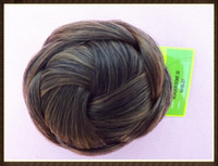 Wholesale 10PCS Fashion Hair Chignon Synthetic Hair Extension Dome Hair Color B B