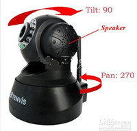 TENVIS de 2012 Nueva cámara WPA red inalámbrica WiFi IP PT Webcam CCTV audio de 2 maneras IPCAM19 Kakacola nueva