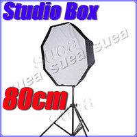 Wholesale Camera hot new cm Umbrella Softbox Soft Flash Silver Reflector Studio