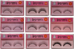 Wholesale Export High Quality False Eyelashes Mixed Style By EMS Pair
