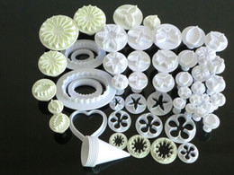 Wholesale Fondant Cake Decorating Icing Plunger Cutter Blossom Daisy Rose Leaf For Bakeware