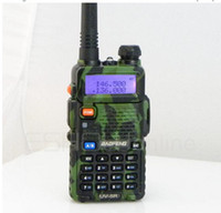 Wholesale New Walkie Talkie W CH UHF VHF MHz MHz DTMF Dual Band Two Way Radio BF UV5R A0850M