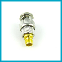 Wholesale 10pcs SMA to BNC adapter SMA female to BNC male straight connector adapter
