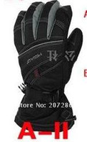 Wholesale Freeshipping Snowmobile winter Ski SUPER SKI SNOWBOARD SNOW AIRSOFT EYEWEAR gloves A2L