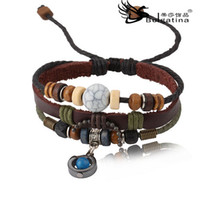 Wholesale Cool Leather Bracelet Charm Metal Snap fastener jewelry Bracelets Ornaments Jewelry Bracelet CH2005
