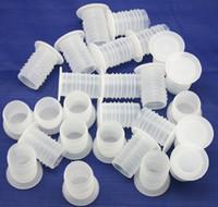 al por mayor corchos de botellas de plástico-Corchetes plásticos reutilizables de la botella de Freeshipping 100pcs / lot al por mayor para el vino que hace los tapones del vino de la cerveza